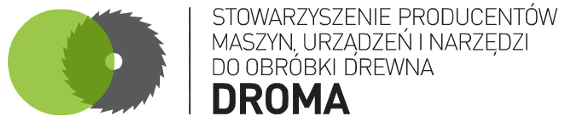 DROMA - Stowarzyszenie Producentów Maszyn, Urządzeń i Narzędzi do Obróbki Drewna Logo